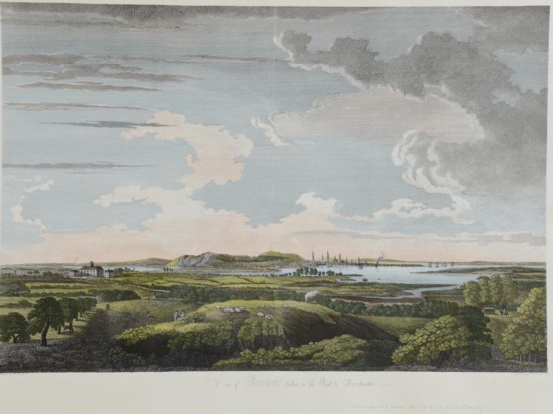 A View of Boston by W. Pierre
