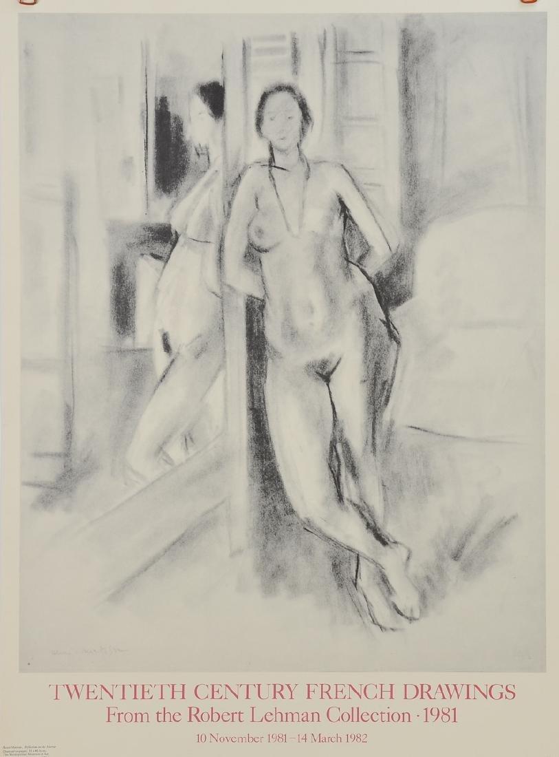 Henri Matisse Museum Exhibition Poster