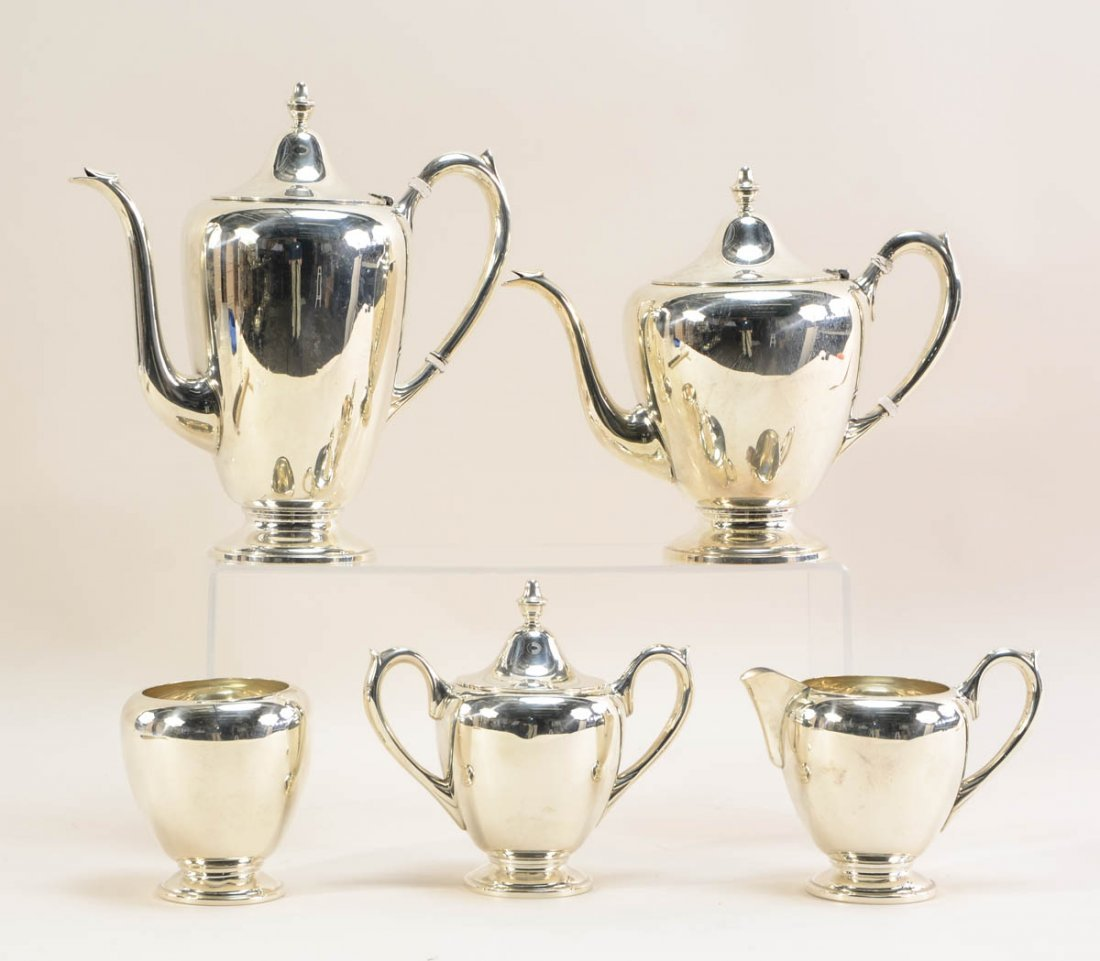 FB Rogers Sterling Silver Tea Service