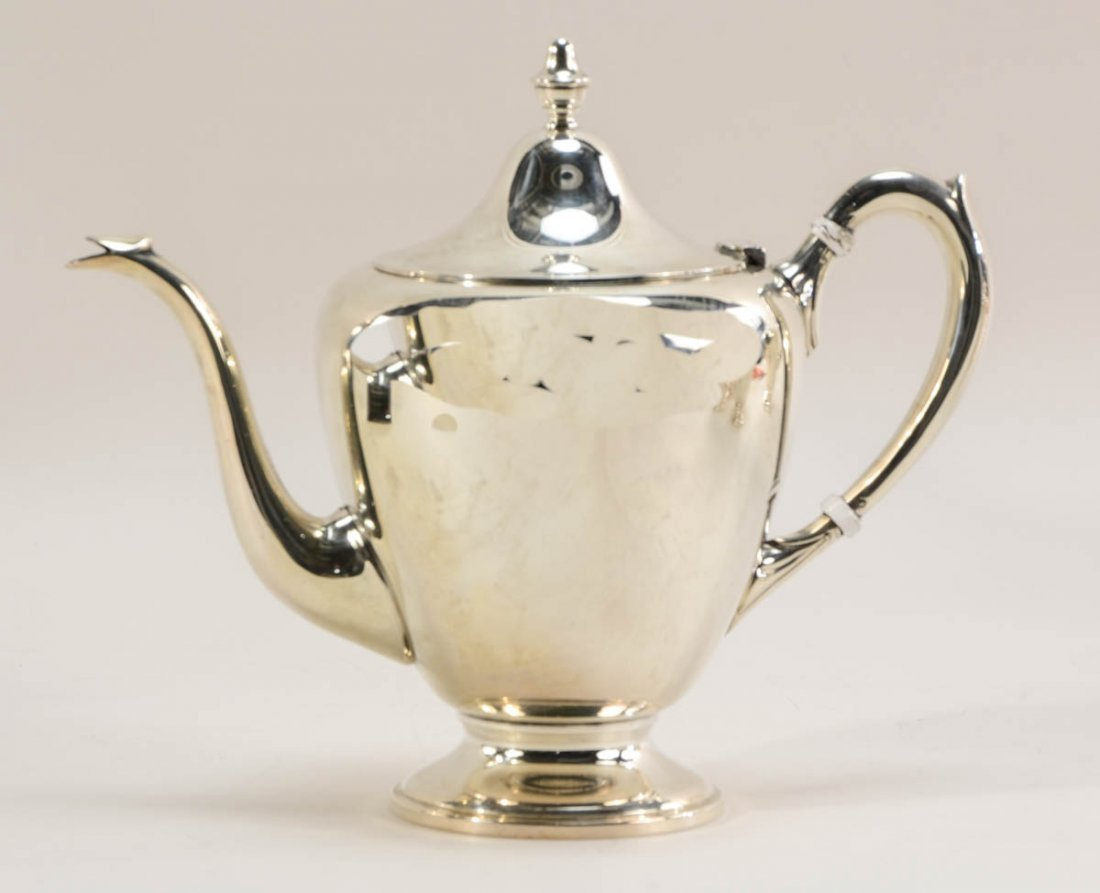 FB Rogers Sterling Silver Tea Service - 2