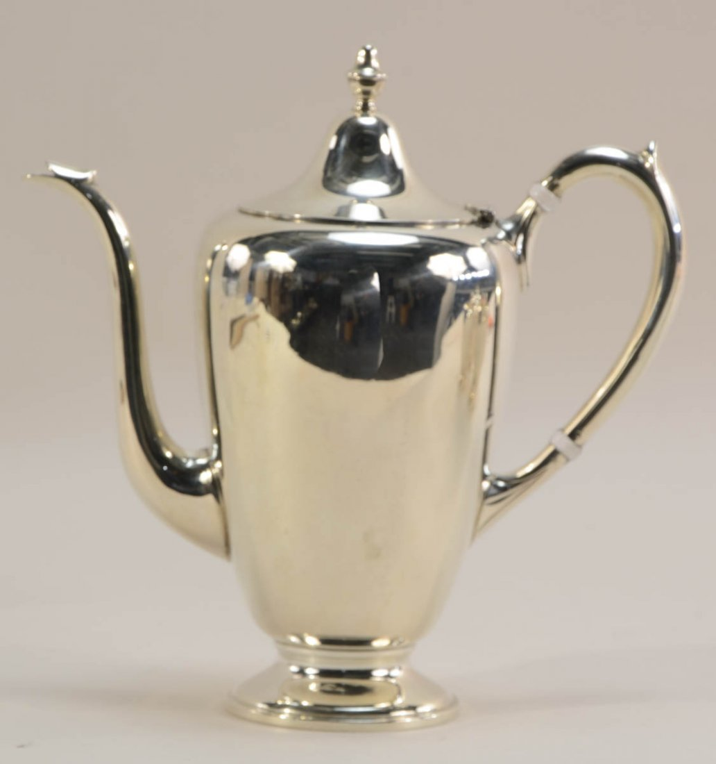 FB Rogers Sterling Silver Tea Service - 3