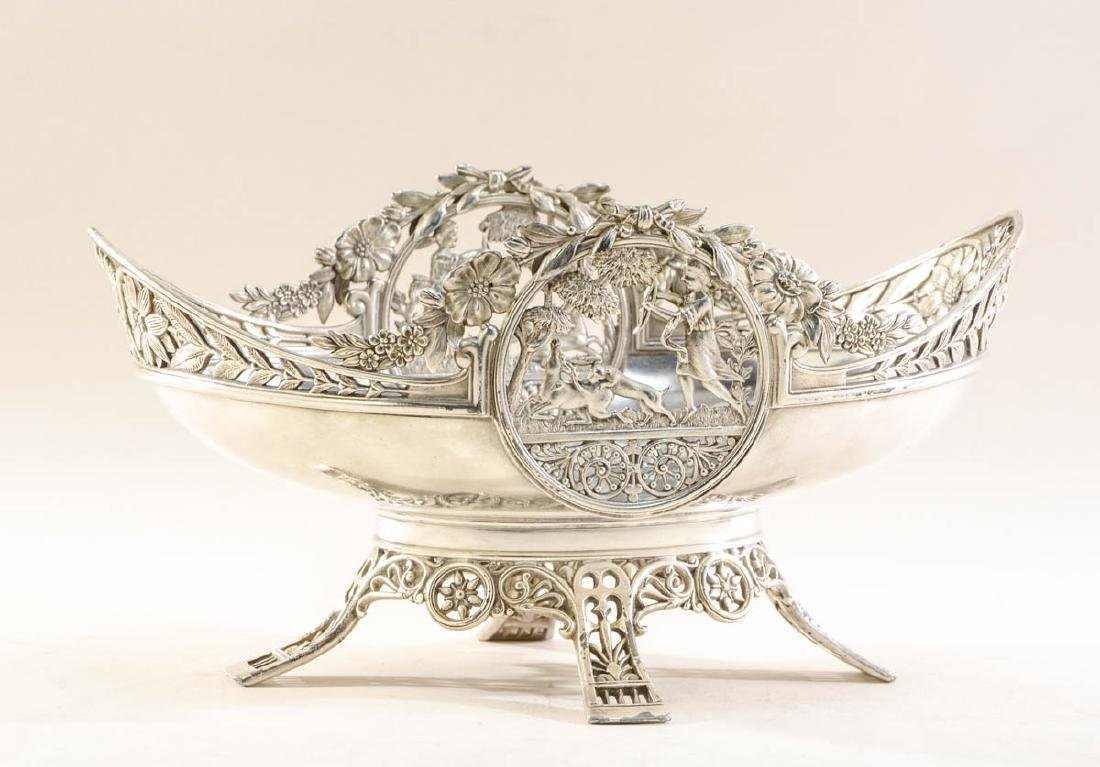 Silverplate Victorian Centerpiece bowl