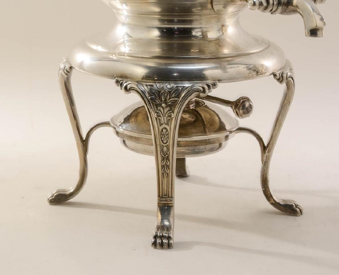 Two Large Silverplate Hot Water Urns - 3