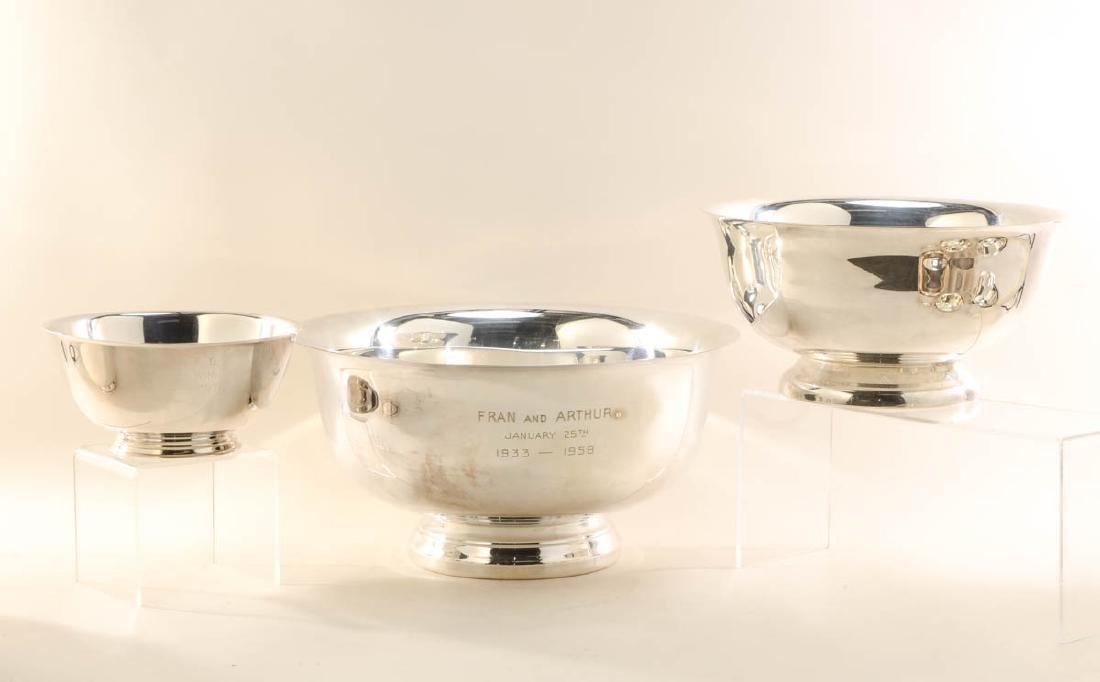 24 Paul Revere Silverplate Bowls - 2