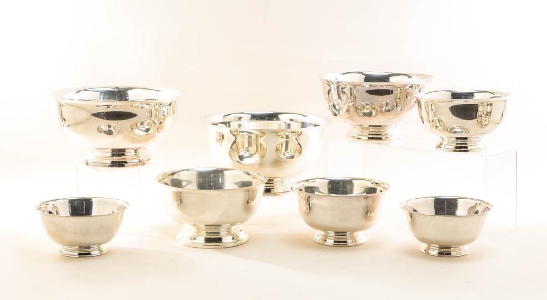 24 Paul Revere Silverplate Bowls - 3