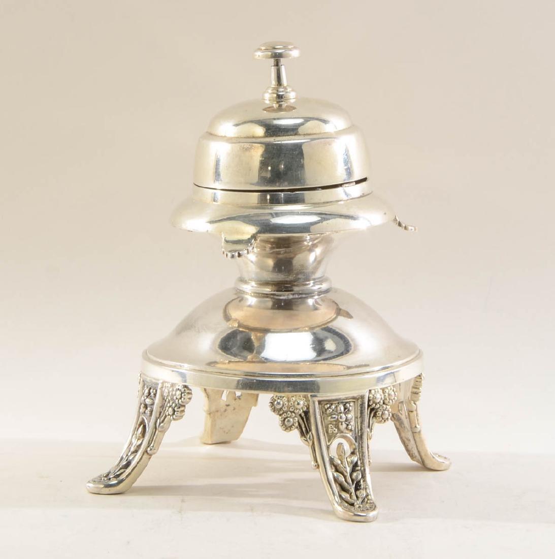 Meriden Britannia Silverplate Service Bell