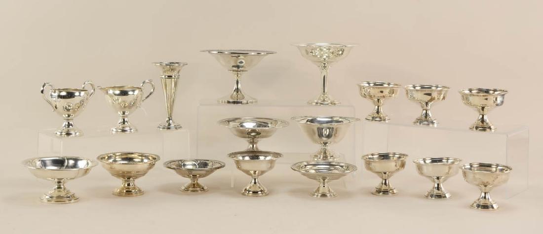 Sterling Silver pedestal Dishes