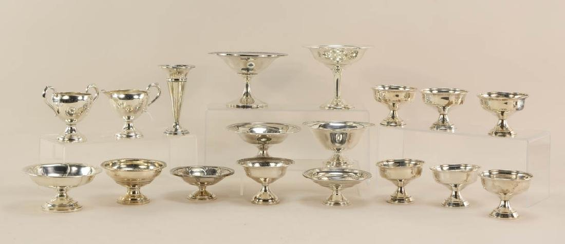 Sterling Silver pedestal Dishes