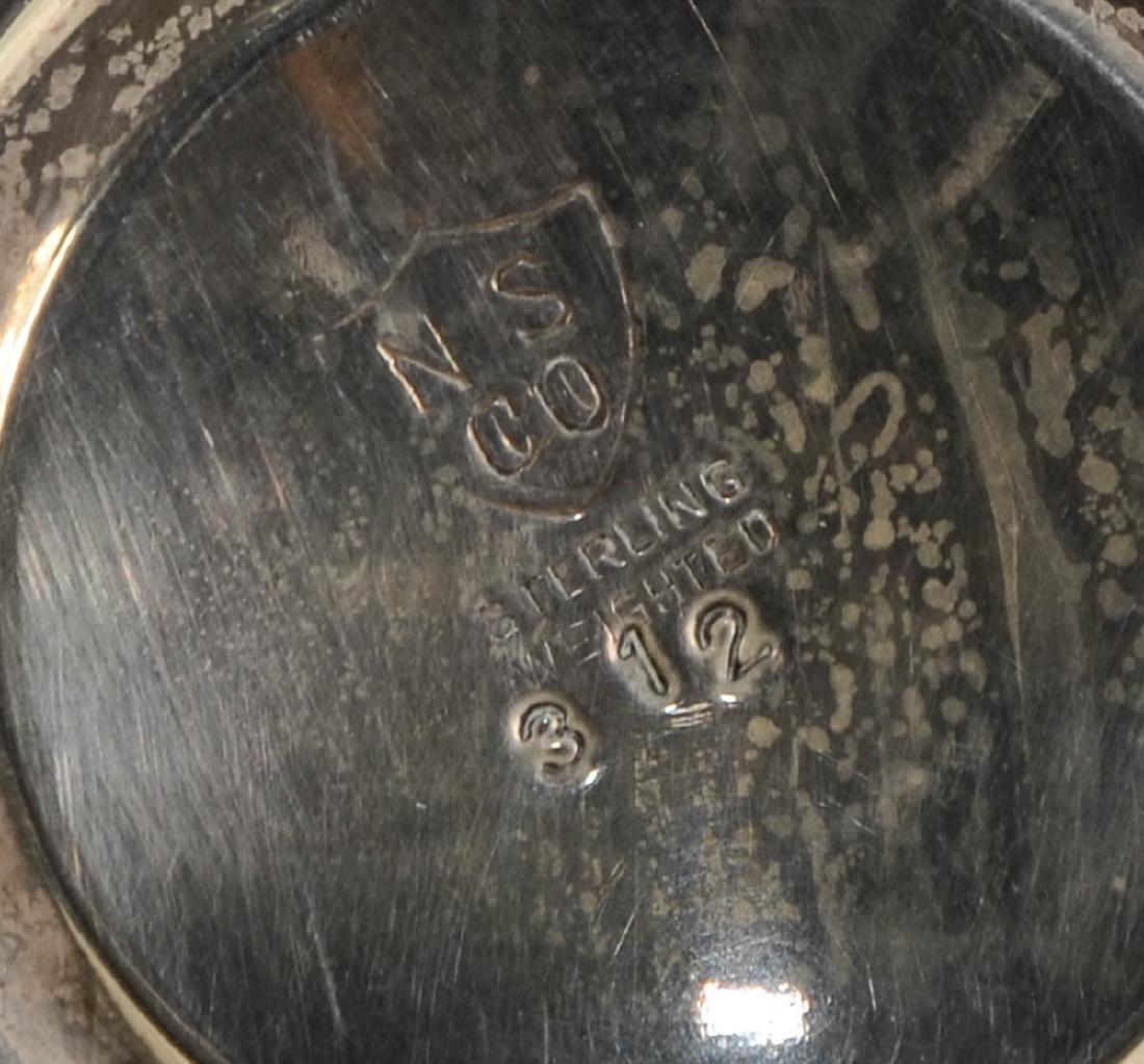 Sterling Silver pedestal Dishes - 6