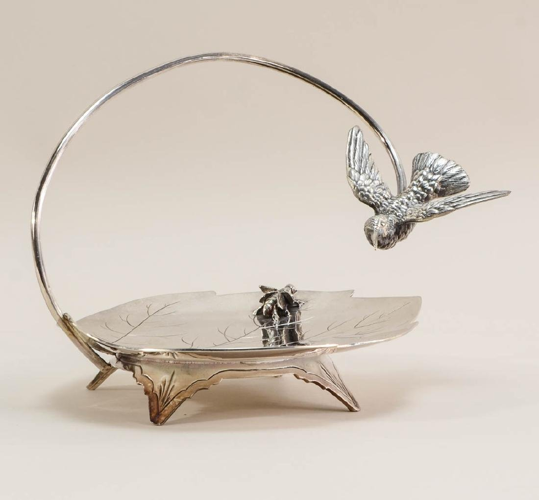 Victorian Aesthetic Figural Silverplate