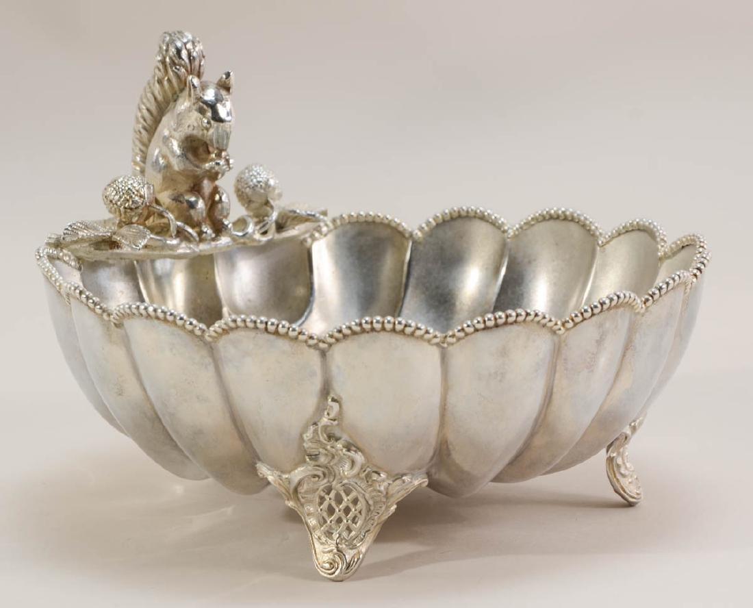 Three Silverplate Nut Bowls - 2