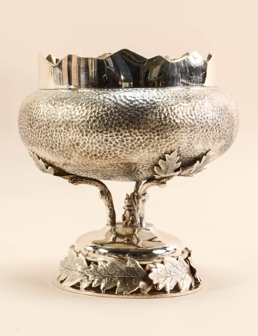 Three Silverplate Nut Bowls - 3