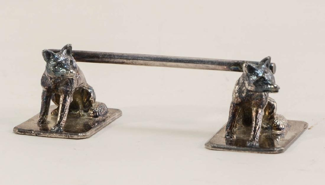 Three antique figural Knife Rests - 2