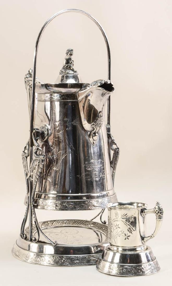 Two Silverplate Ice Water Pitchers - 2