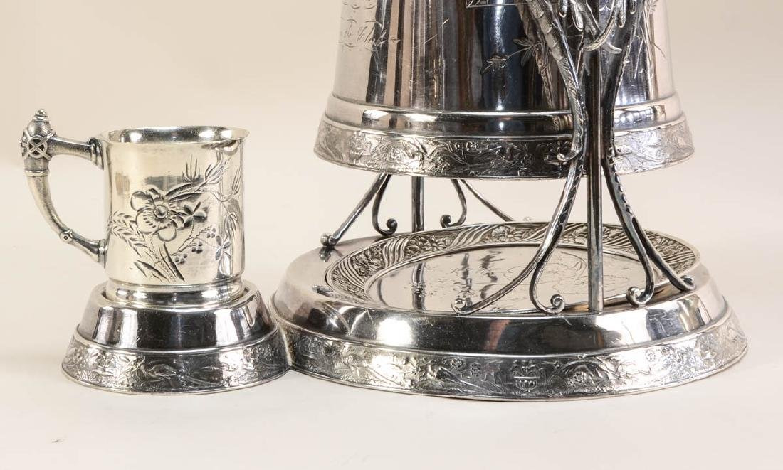 Two Silverplate Ice Water Pitchers - 3