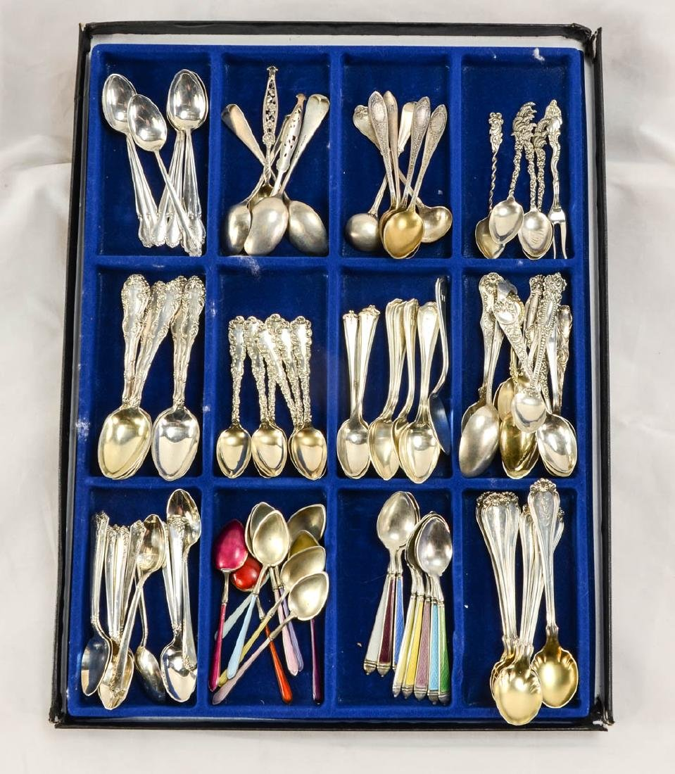 Sterling Demitasse Spoons