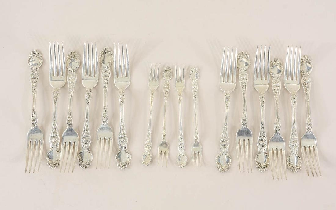 Wallace Violet Sterling Silver Flatware