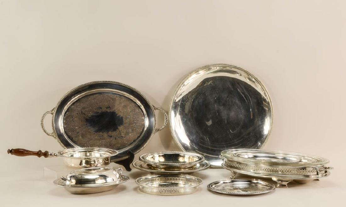 Group of 20th Century silver plate - 2