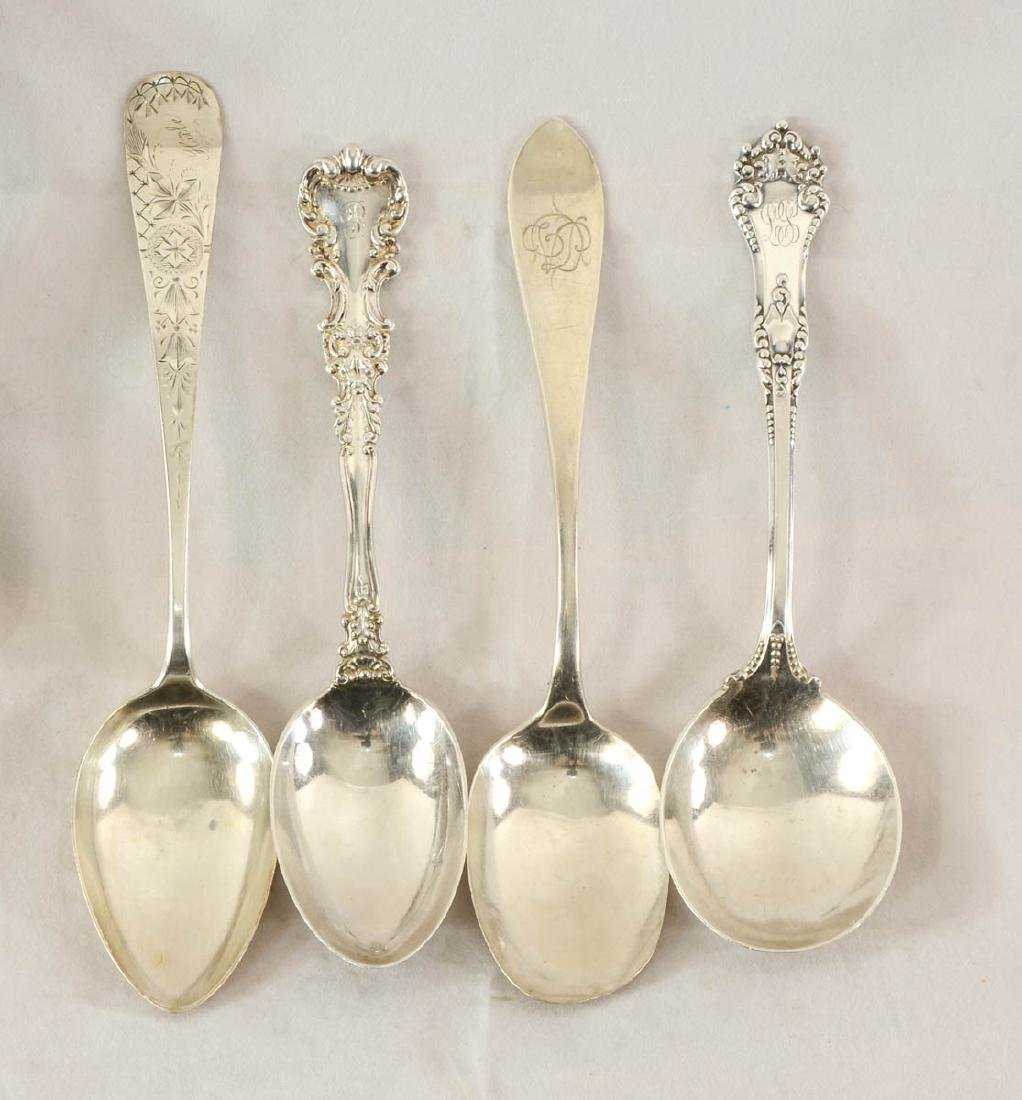 Sterling Silver Serving Spoons - 2