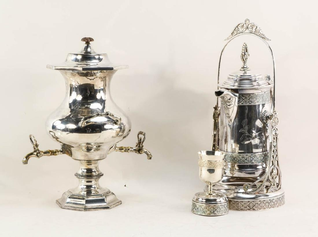 Water tankard and Samovar