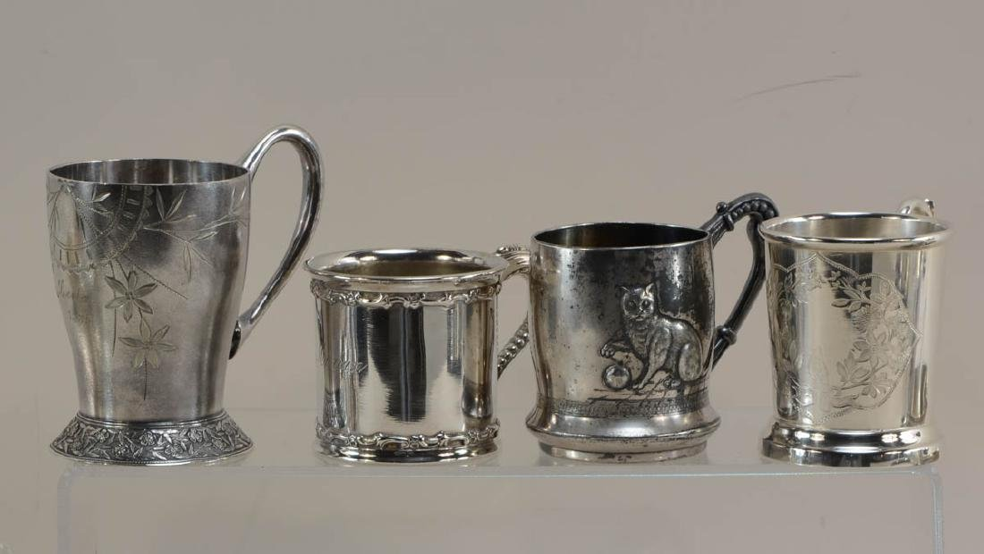 Silver plate cups and beakers - 2