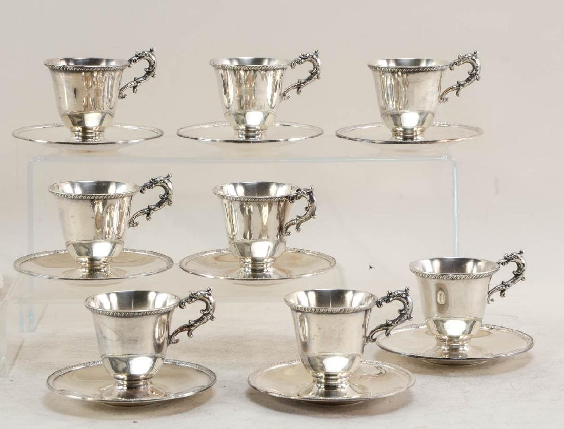Silver plate cups and beakers - 5
