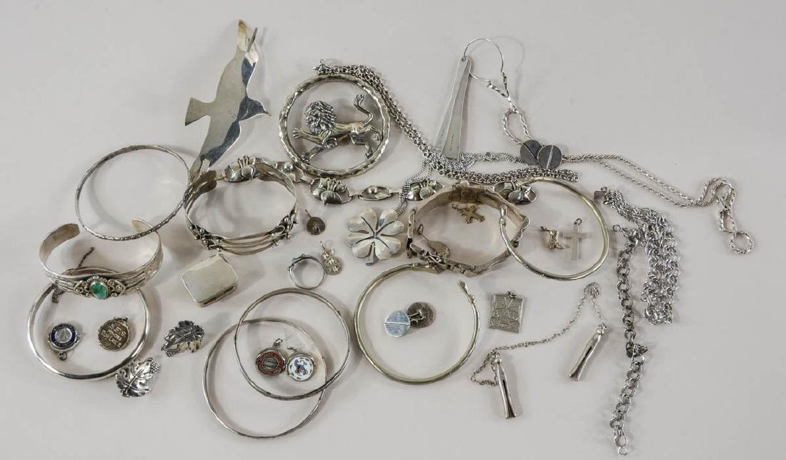 Mixed Sterling Silver Jewelry