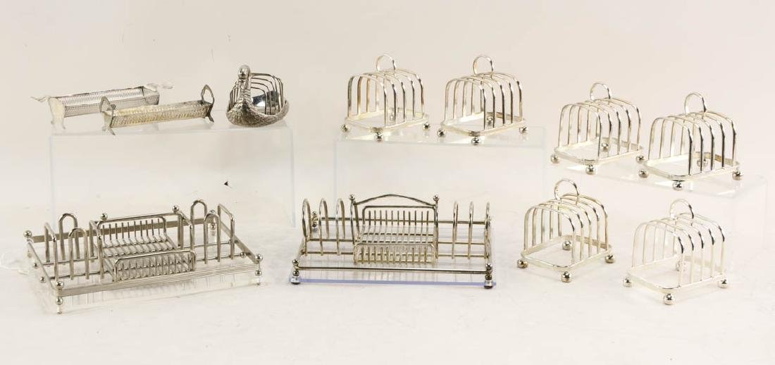 Collection of Toast Racks & more