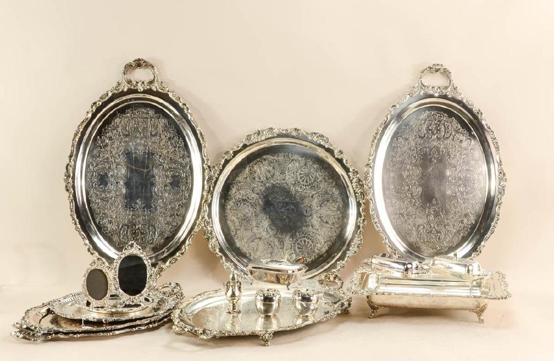 Wallace Baroque Silverplate Group
