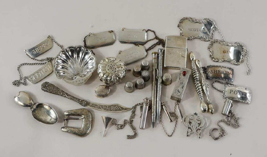 Sterling Silver Smalls and Novelties