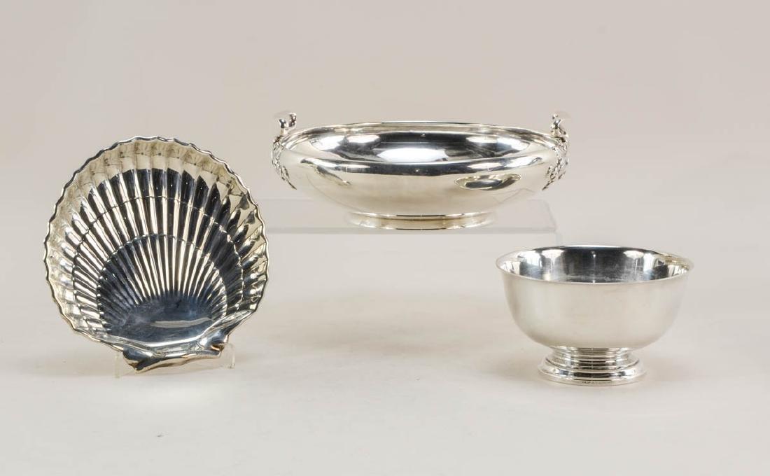 Three Gorham Sterling Silver Bowls