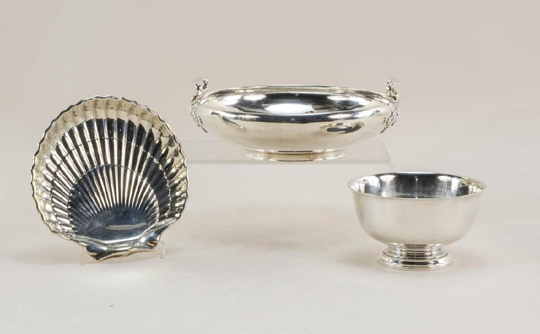 Three Gorham Sterling Silver Bowls
