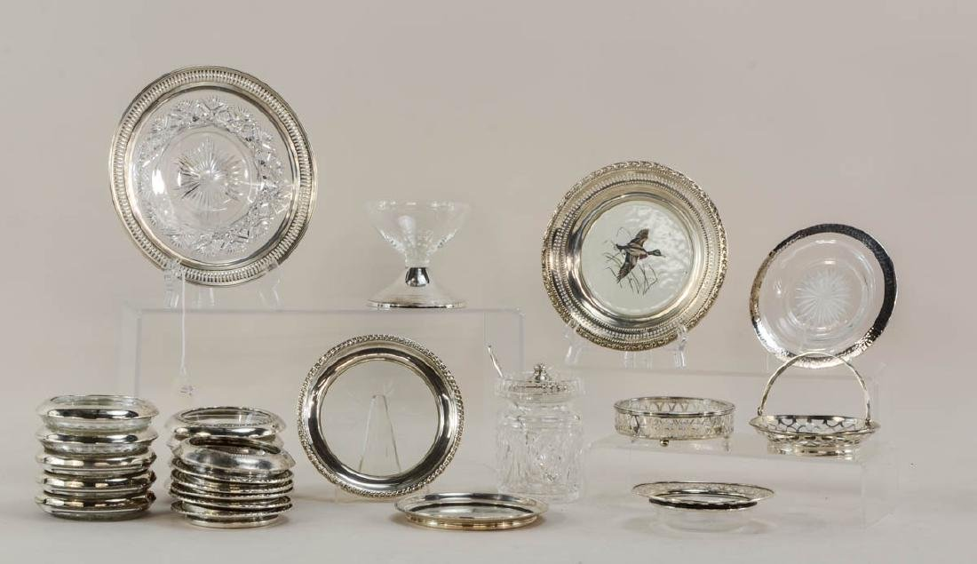 Group of Sterling Table Items