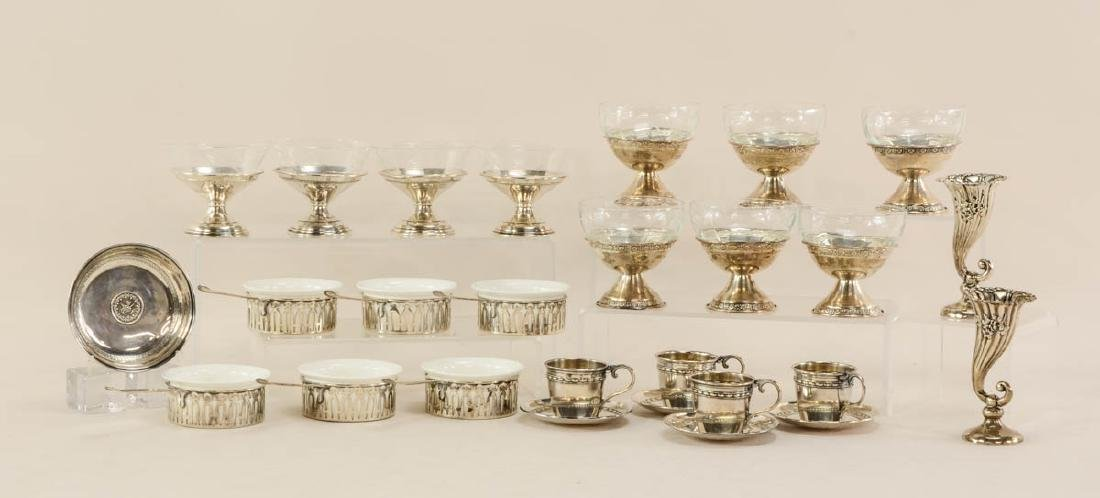 Sterling Silver table items