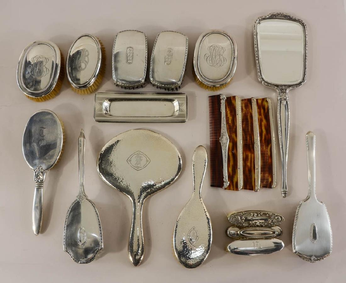 Mixed Sterling Silver Vanity Items