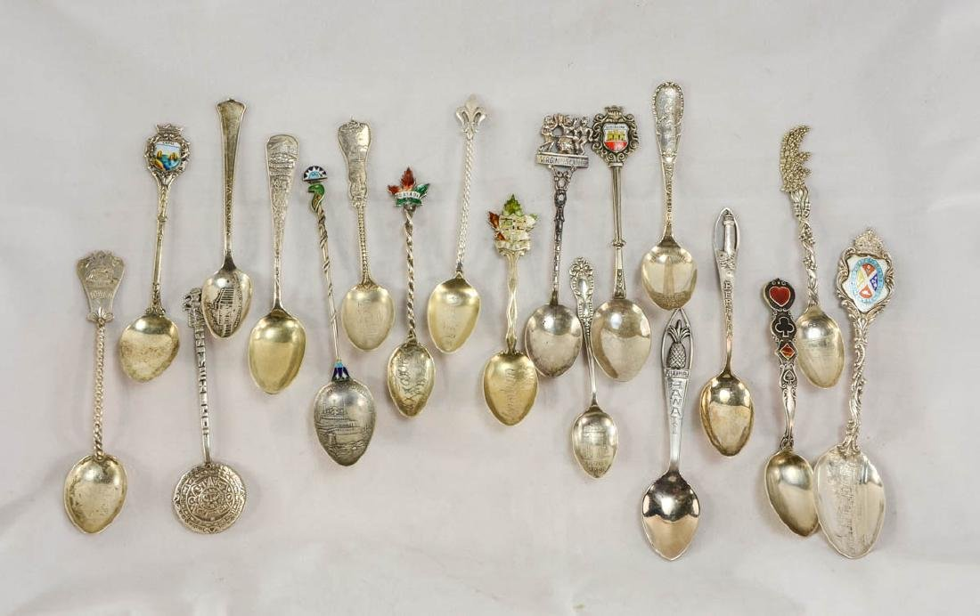 Sterling Silver Souvenir Spoons - 2