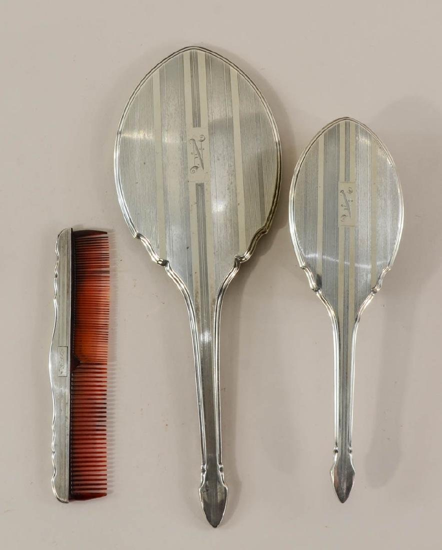 Sterling Silver Vanity Group - 2