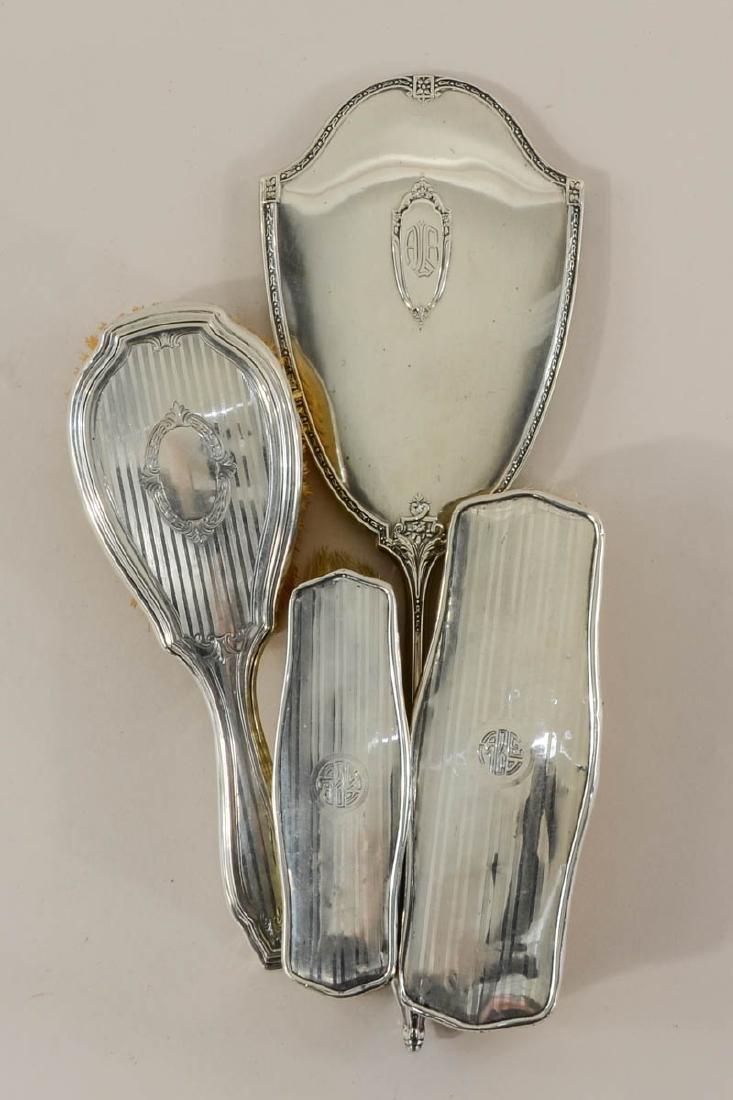 Sterling Silver Vanity Group - 6