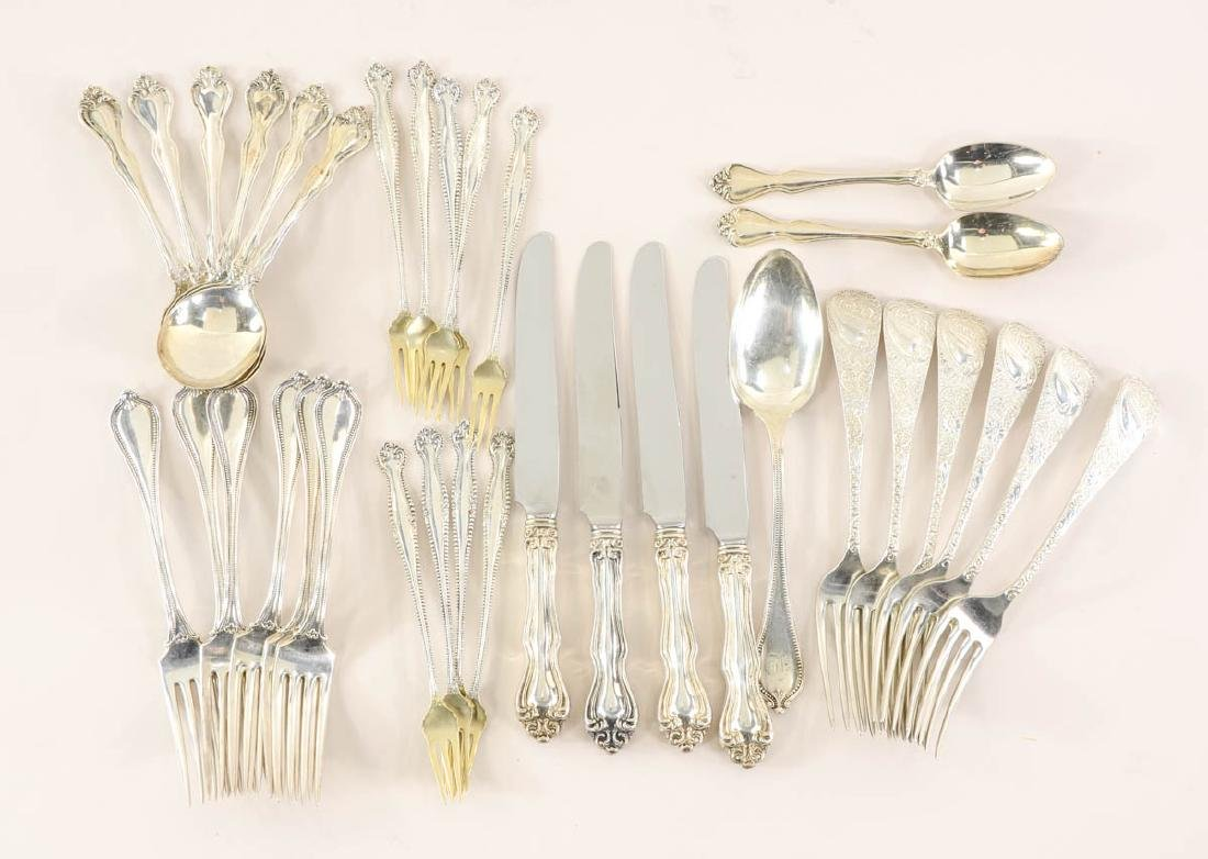 Mixed Sterling Silver Group.