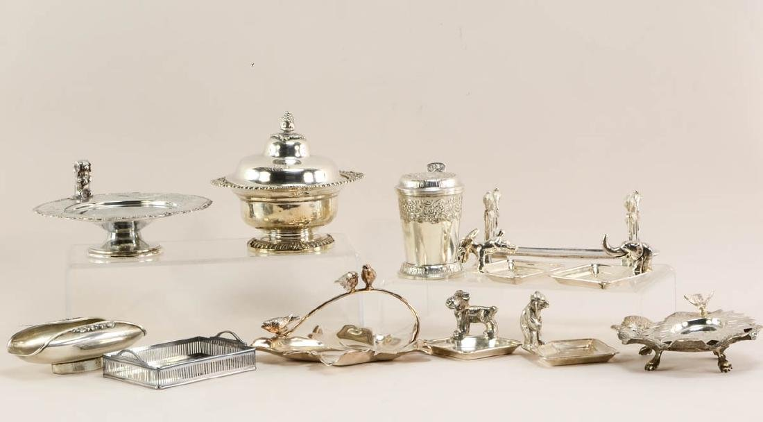Group of small figural pin trays