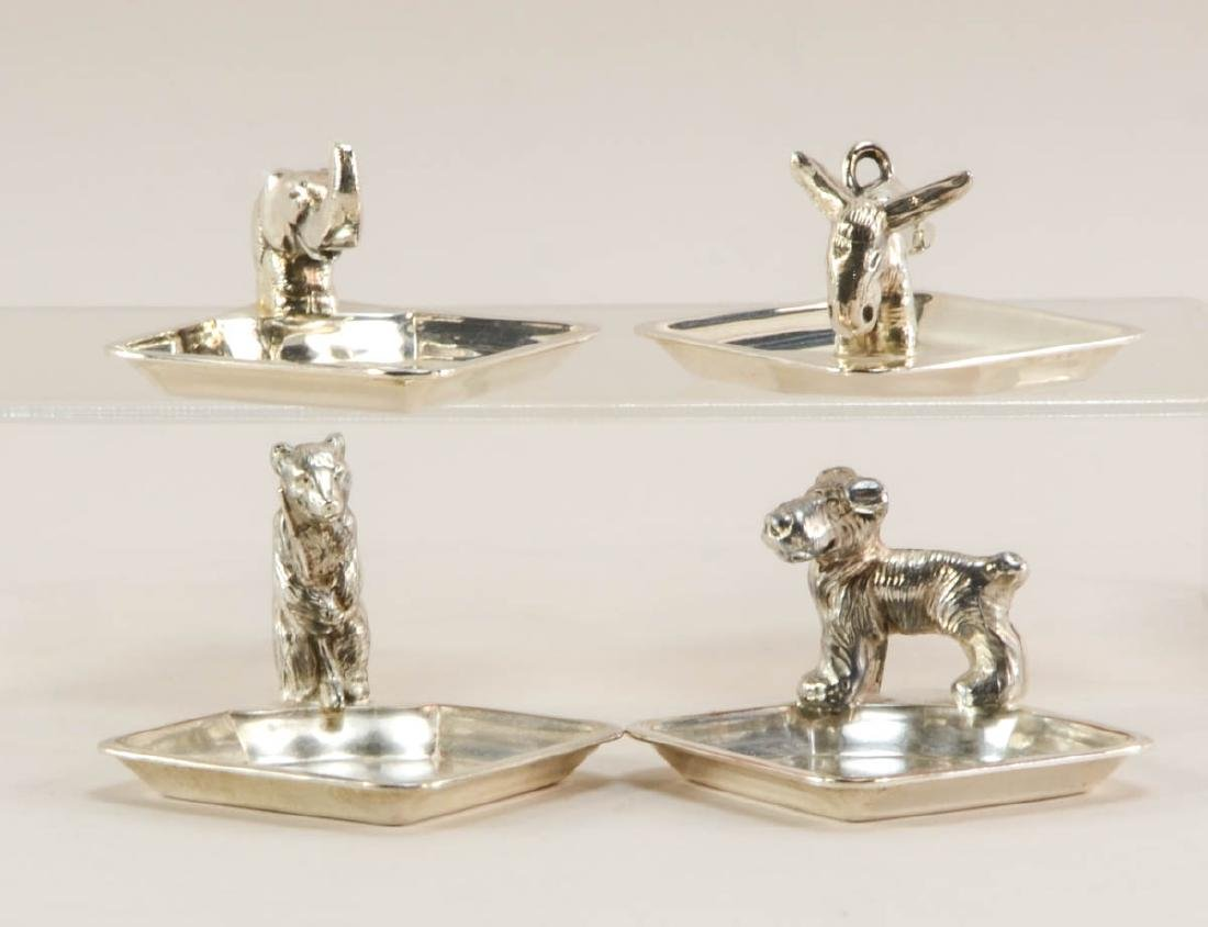 Group of small figural pin trays - 3