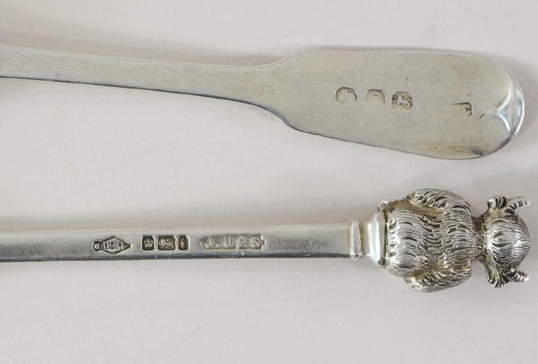 English Sterling Silver Group - 4