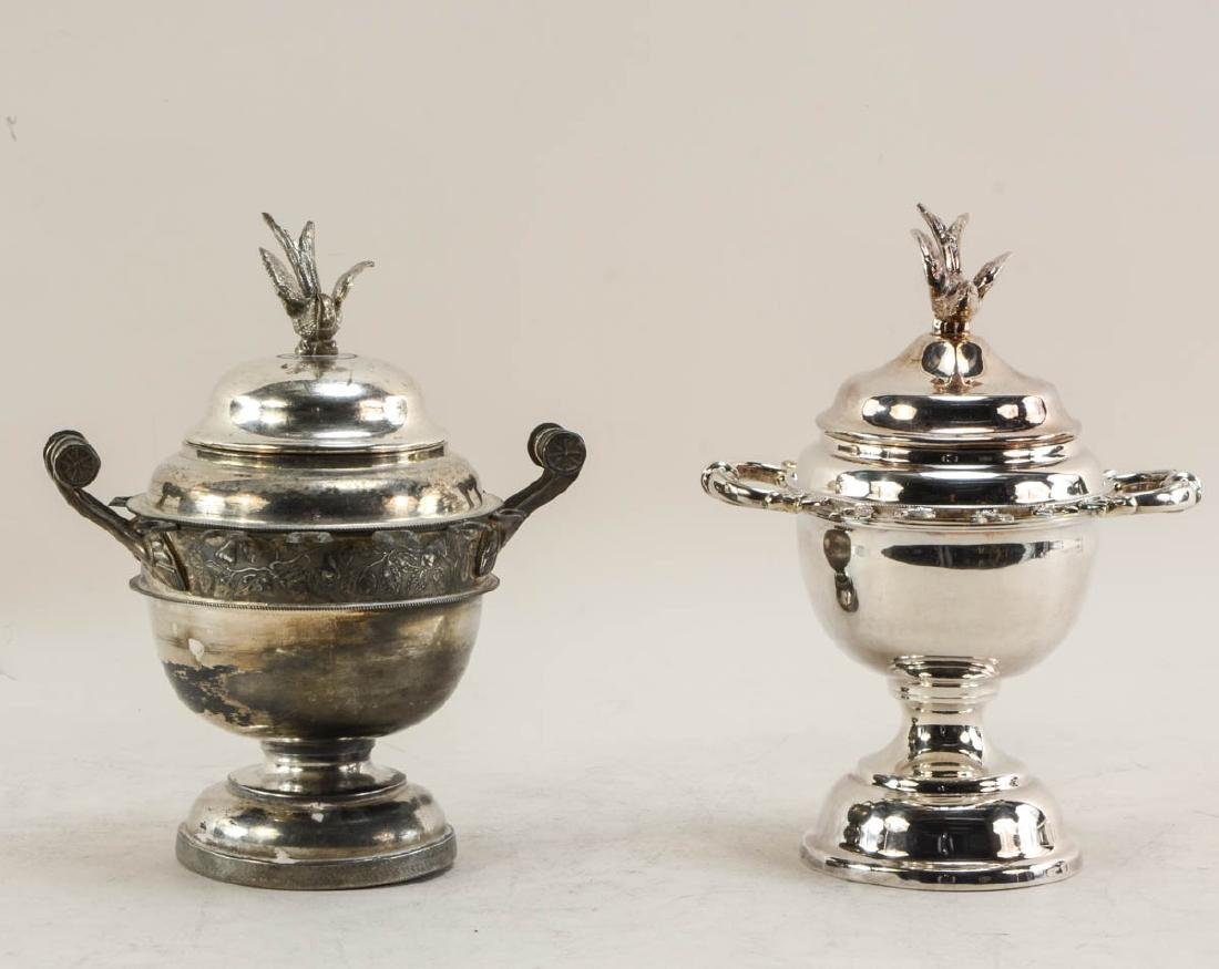 Four Silverplate Spooners - 4