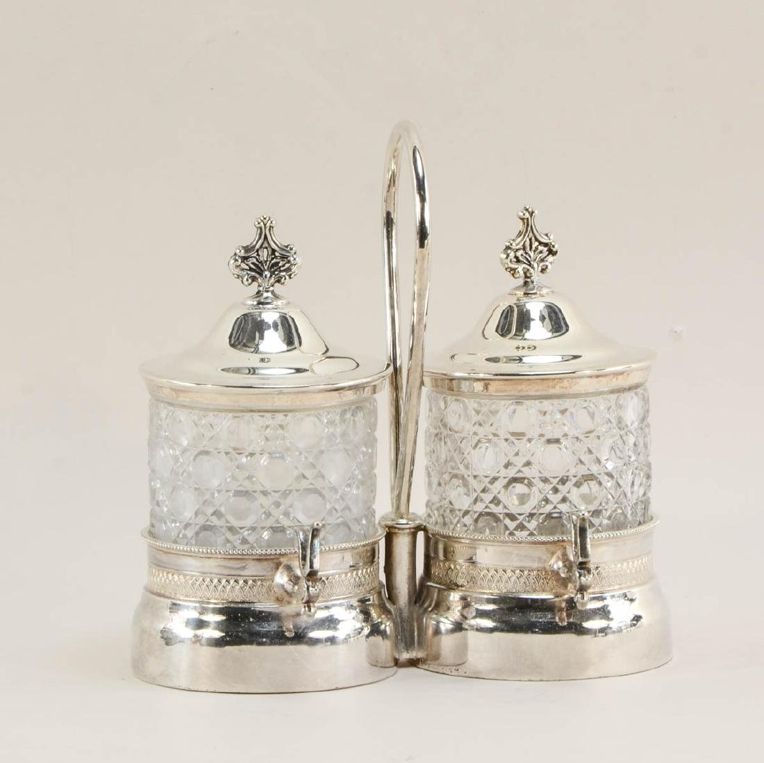 Four Victorian Silverplate Serving Pieces - 2