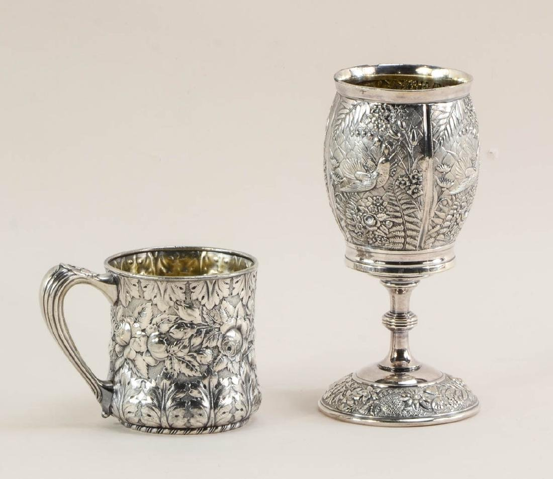 Five pieces of American Silverplate - 2