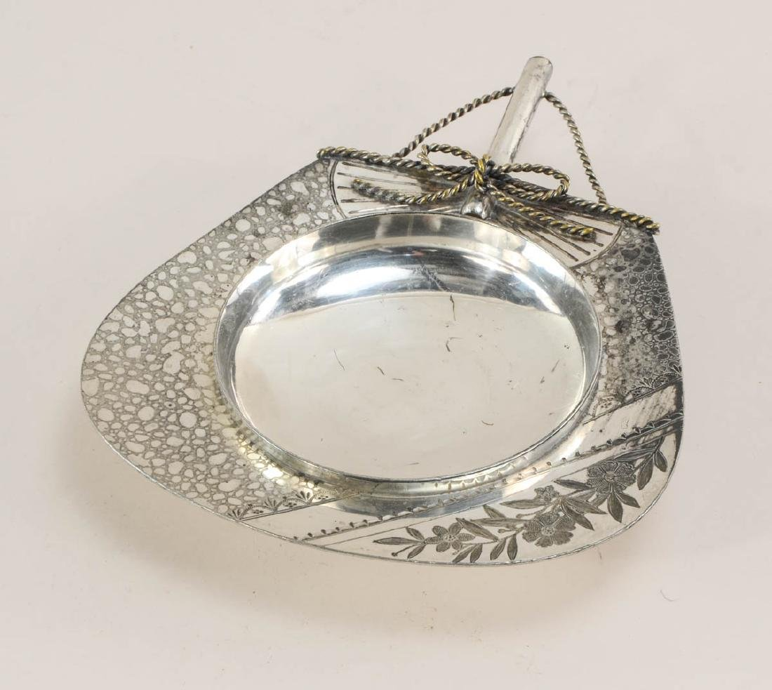 Five pieces of American Silverplate - 5