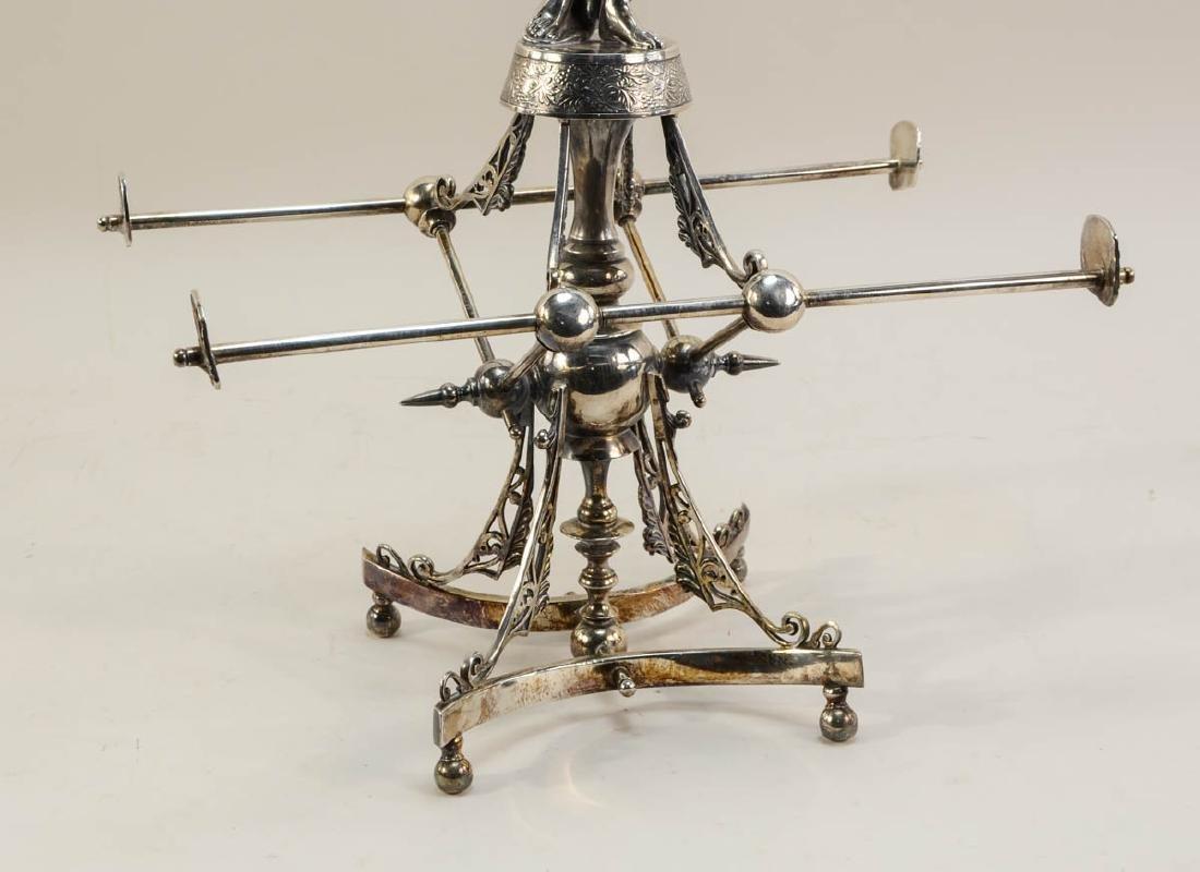 Wilcox Silverplate Figural Centerpiece - 3