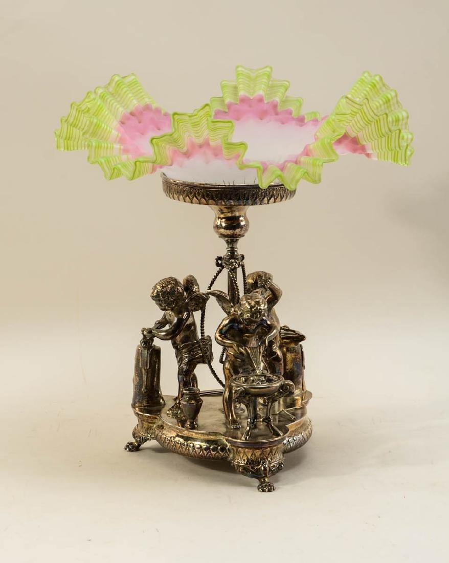 Wilcox Silverplate Brides Basket