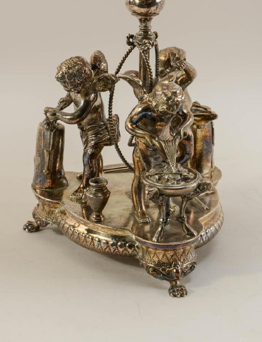Wilcox Silverplate Brides Basket - 2