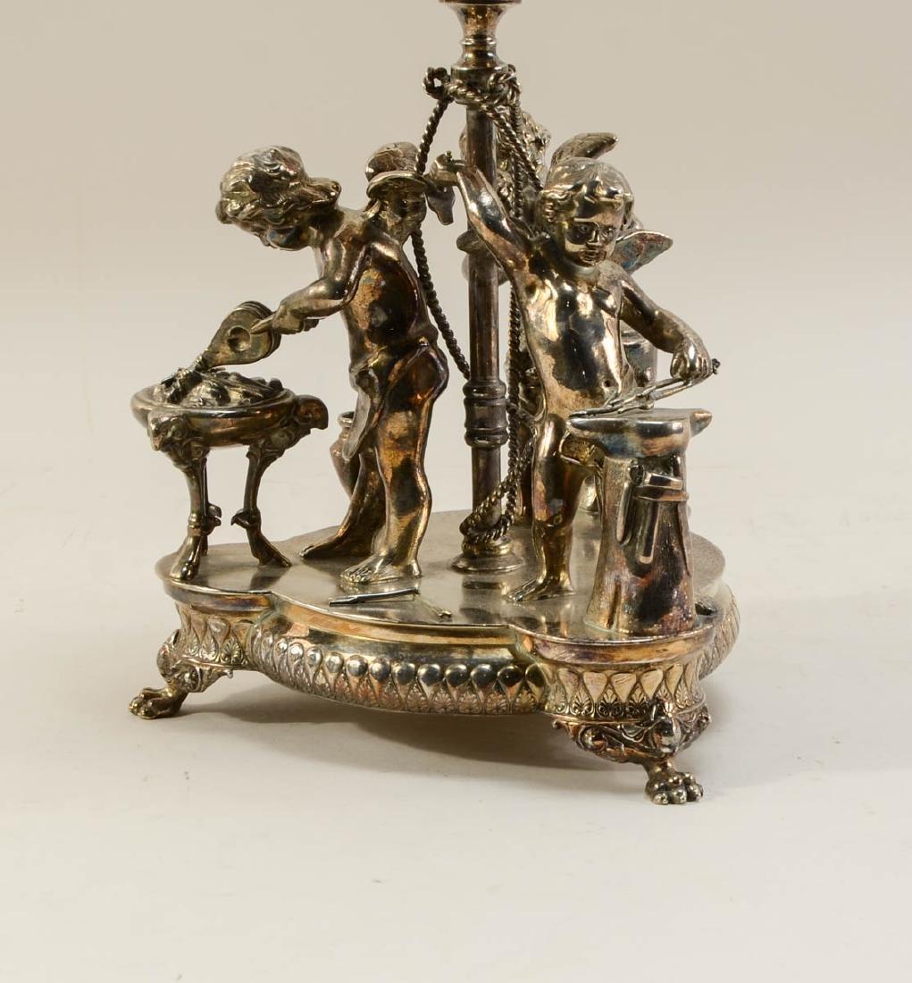 Wilcox Silverplate Brides Basket - 3